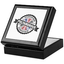 Certified Polyamory Stamp Keepsake Box