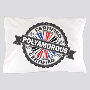 Certified Polyamory Stamp Pillow Case