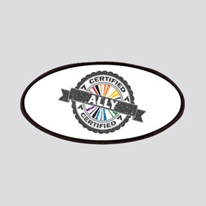 Certified LGBT Ally Stamp Patch