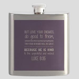Bible Verse Luke 6:35 Flask
