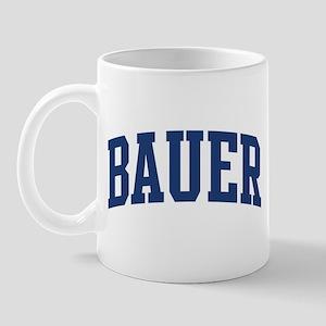 BAUER design (blue) Mug