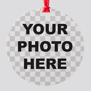 Your Photo Here Ornament