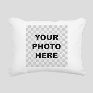 Your Photo Here Rectangular Canvas Pillow