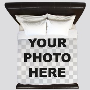 Your Photo Here King Duvet