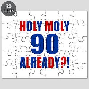 90 Holy Moly Already Birthday Puzzle