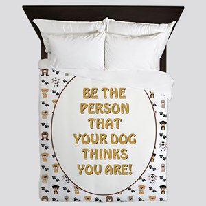 BE THE PERSON... Queen Duvet