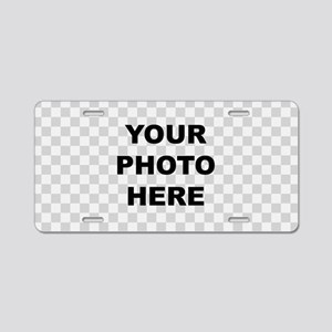 Your Photo Here Aluminum License Plate