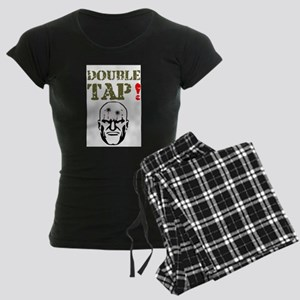 DOUBLE TAP - TWO IN THE HEAD Women's Dark Pajamas