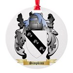 Simpkins Round Ornament