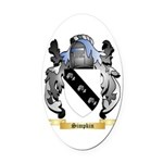 Simpkin Oval Car Magnet