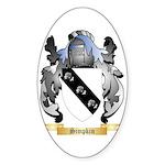 Simpkin Sticker (Oval)