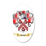 Simpil 20x12 Oval Wall Decal