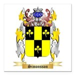 Simonsson Square Car Magnet 3