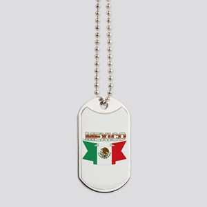 USA flag ribbon Dog Tags