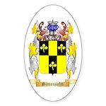 Simonsohn Sticker (Oval 10 pk)