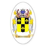 Simonovici Sticker (Oval 50 pk)