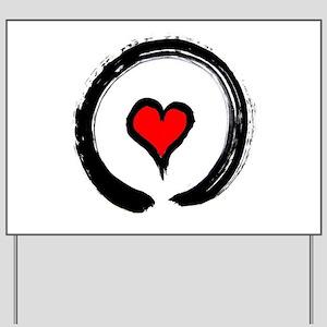 Zen Love Yard Sign