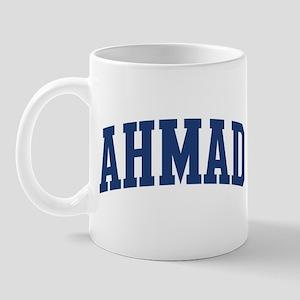 AHMAD design (blue) Mug