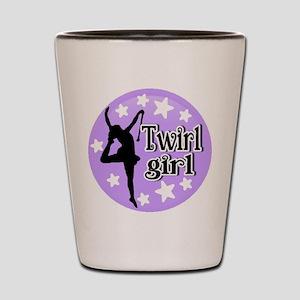Twirl Girl Shot Glass