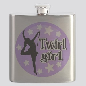 Twirl Girl Flask