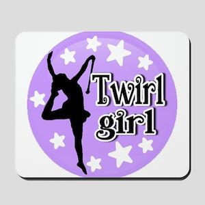 Twirl Girl Mousepad
