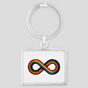 Rainbow Infinity Keychains