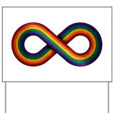 Rainbow Infinity Yard Sign