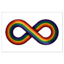 Rainbow Infinity Posters