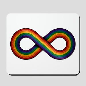 Rainbow Infinity Mousepad