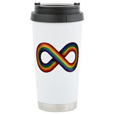 Rainbow Infinity Travel Mug