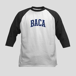 BACA design (blue) Kids Baseball Jersey