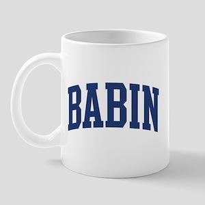 BABIN design (blue) Mug