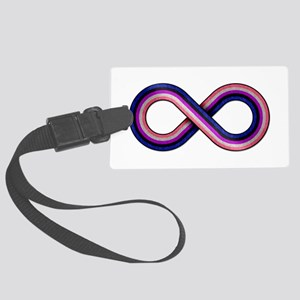 Gender Fluid Infinity Large Luggage Tag