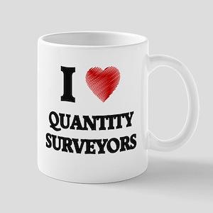 I love Quantity Surveyors Mugs