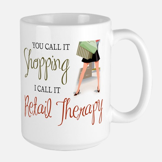 Retail Therapy Mugs