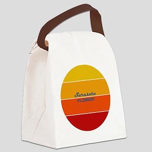 Florida - Sarasota Canvas Lunch Bag