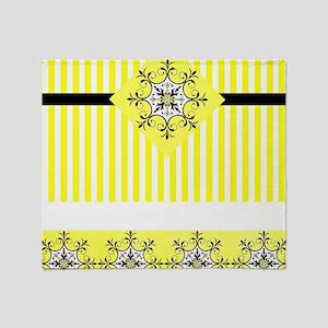 Mixed yellows Throw Blanket