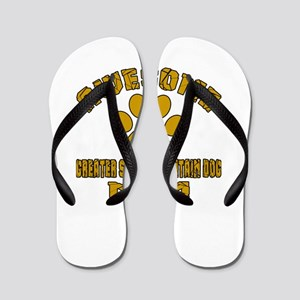 Awesome Greater Swiss Mountain Dog Mom Flip Flops