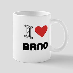 I Love Brno City Mug