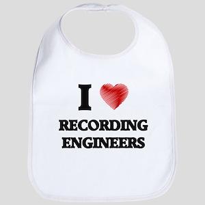 I love Recording Engineers Bib