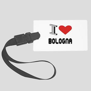 I Love Bologna City Large Luggage Tag