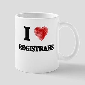 I love Registrars Mugs
