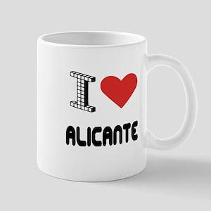 I Love Alicante City Mug
