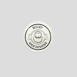 Booey Web Desoine Stamp Mini Button