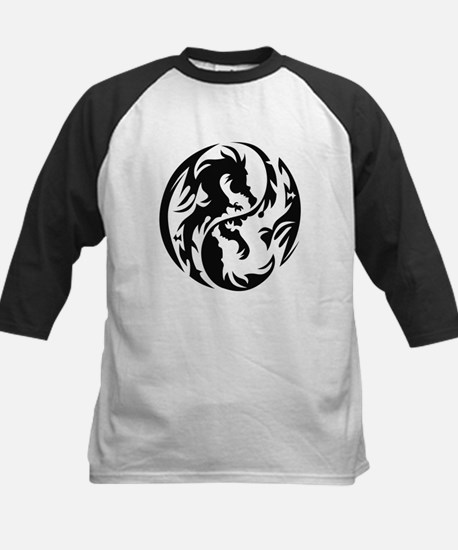 Tribal Dragons Kids Baseball Jersey
