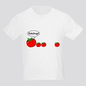Ketchup Joke Kids Light T-Shirt