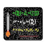 Rocket Equation And Rocket Thrust Star Mousepad