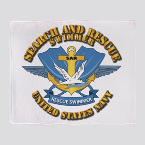 Search and Rescue Swimmer Throw Blanket