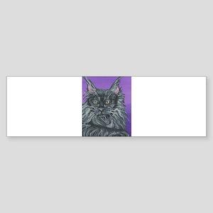 Maine Coon Cat Bumper Sticker