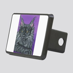 Maine Coon Cat Rectangular Hitch Cover